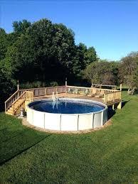 above ground pools deck ideas