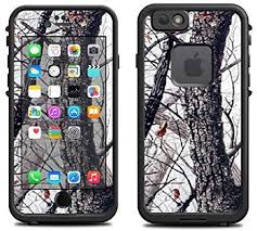 Amazon Com Skin For Lifeproof Iphone 6 Case Skins Decals Only Winter Camo Tree Camo Artic