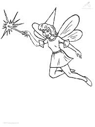 1001 Kleurplaten Fantasie Elfen Elfjes Kleurplaat