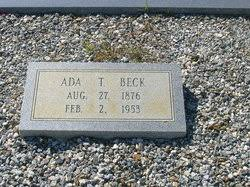 Ada M Tyree Beck (1876-1953) - Find A Grave Memorial