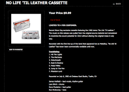 life til leather demo tape