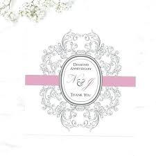 60th anniversary card diamond wedding