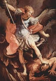 La storia del famoso dipinto di San Michele Arcangelo che schiaccia il  volto di un Papa