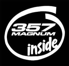 357 Magnum Inside Funny Window Decal Stickers 5 5 Inch Customstickershop On Artfire