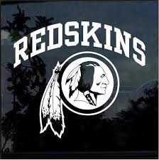 Washington Redskins Window Decal Sticker Custom Sticker Shop