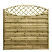 Grange Elite Horizontal Slat Fence Panel W 1 8m H 1 8m Pack Of 4 Departments Diy At B Q