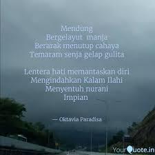 mendung bergelayut man quotes writings by oktavia paradisa