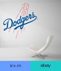 Los Angeles Dodgers Baseball Mlb Wall Decal Vinyl Decor Room Car Sticker Art J83 Vinyl Wall Decals Vinyl Decor Dodgers
