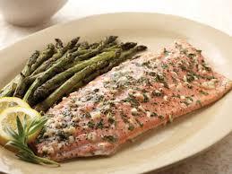 alaska sockeye salmon with herbs and