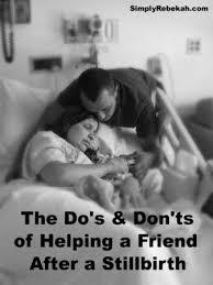 helping a friend after a stillbirth