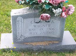 Georgia Anna Murray Wagner (1906-1985) - Find A Grave Memorial
