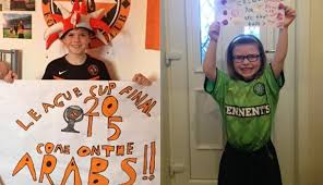 Blair and Ava win cup final mascot competition! | SPFL