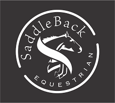 Saddleback Equestrian Vinyl Decal Two Socks Designs