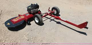 Postmaster Tow Mower And Fence Post Trimmer In Lawrence Ks Item X9305 Sold Purple Wave