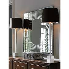 calliope square sunburst mirror by