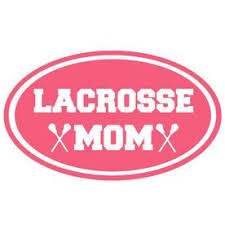 Lacrosse Mom Oval Vinyl Decal Lacrosse Mom Lacrosse Lacrosse Girls