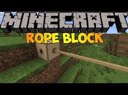 Minecraft Mods Rope Block Mod 1 6 2 Youtube