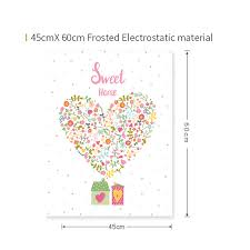 frosted glass window heart shaped
