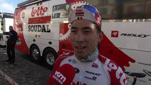 Caleb Ewan - Interview at the start ...
