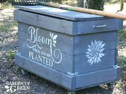 garden storage chest bq cushion pool