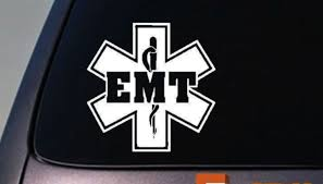 Emt Vinyl Car Window Decal Emergency And 50 Similar Items