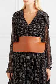 loewe obi leather waist belt net a