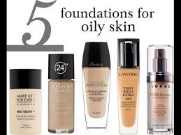 best makeup foundation for oily skin