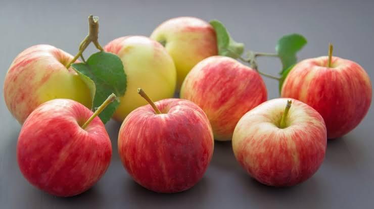 ácido málico e maçãs