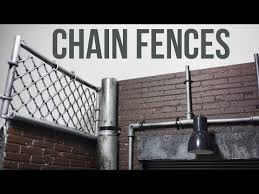 Chain Fences Diorama Tutorial Ep17 Youtube