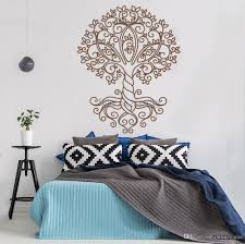 Tall Vinyl Wall Decal Tree Of Life Ornament Nature Wall Stickers Home Decor Decals Art Living Room Wall Decoration Wall Applique Wall Appliques From Onlinegame 12 66 Dhgate Com