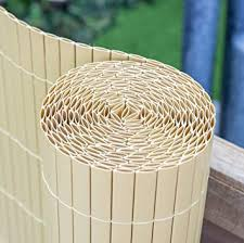 Artificial Bamboo Cane Plastic Garden Fence Screening Roll Privacy Border Wind Sun Protection 4 0 X 1 0m 13ft 1in X 3ft 3in By Papillon Amazon Co Uk Diy Tools
