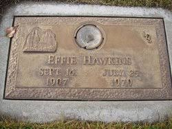Effie Hawkins (1907-1979) - Find A Grave Memorial
