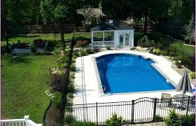 Pool Landscaping Ideas Pictures Awesome House Inground On A Budget Home Elements And Style Simple Above Ground Swimming Small Inexpensive Fire Pit Crismatec Com