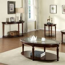 chrinus 3 piece coffee table set
