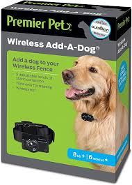 Amazon Com Premier Pet Wireless Fence Add A Dog Collar Gif00 16348 Pet Supplies