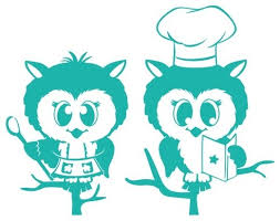 Cooking Owls Wall Decal Contemporary Wall Decals By Style And Apply