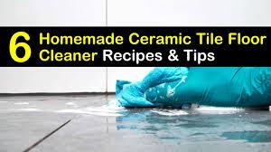 6 simple diy ceramic tile floor cleaner