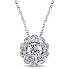 laura ashley 0 74ctw diamond flower