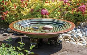 beautiful bird baths that will send