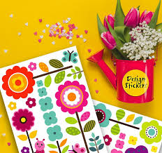 Designstickers Flower Wall Stickers For Kids Floral Garden Wall Decals For Girls Room Re