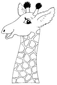 Dieren Printen 213 Kleurplaten Giraffe Kunst Dieren Kleurplaten