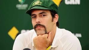 Australia's moustache man- Mitchell Johnson