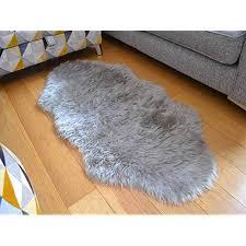 grey sheepskin rugs co uk
