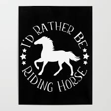 riding horse cool gift