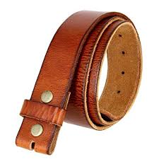 leather belts without buckles com