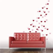 Heart Fetti Wall Decal