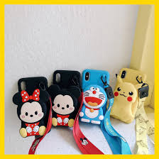 Phim Hoạt Hình Mickey Minnie Chuột Doraemon Pikachu Tiền Thẻ  BagSoftAnti-Mùa Thu Chống Sốc, Chống-Gõ Trường Hợp Điện Thoại Cho iPhone 11  Pro Max X XR XS Điện Thoại Di Động Trở