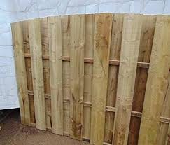 Smileswoodcraft Wooden Garden Hit And Miss Wind Proof Fencing 182cm 6ft Arch Top Fence Panel W H X 60cm 2ft Swing Gates