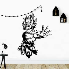 Hot Deal 2a38 Personalized Dragonball Wall Sticker Self Adhesive Vinyl Waterproof Bedroom Nursery Decoration Background Wall Art Decal Cicig Co