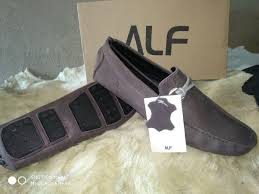 mens suede leather loafer shoes